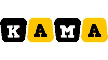 Kama boots logo