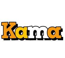 Kama cartoon logo