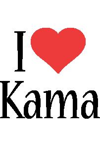 Kama i-love logo