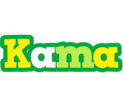 Kama soccer logo