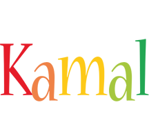 Kamal birthday logo