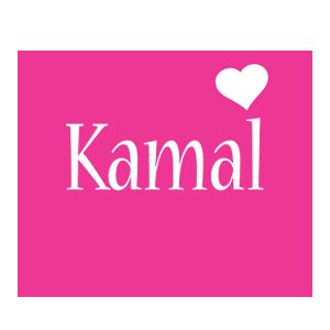 Kamal love-heart logo