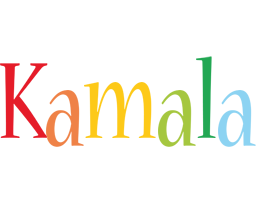 Kamala birthday logo