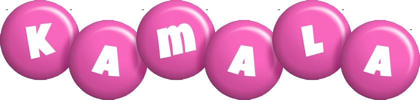 Kamala candy-pink logo