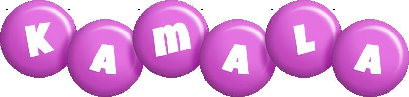 Kamala candy-purple logo