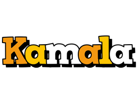 Kamala cartoon logo
