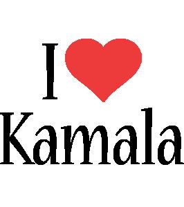 Kamala i-love logo