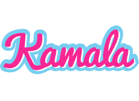 Kamala popstar logo