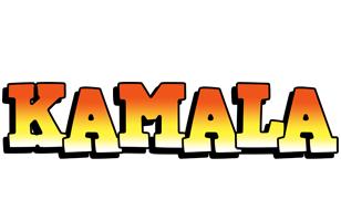 Kamala sunset logo