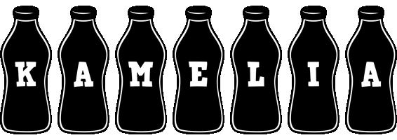 Kamelia bottle logo