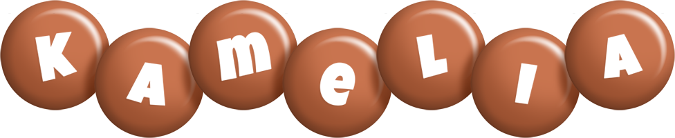 Kamelia candy-brown logo