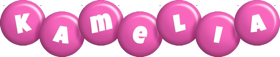 Kamelia candy-pink logo