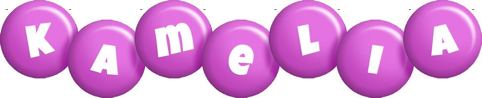 Kamelia candy-purple logo