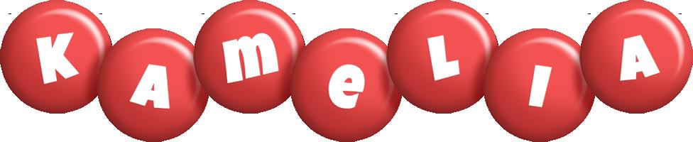 Kamelia candy-red logo
