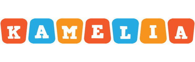 Kamelia comics logo