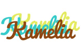 Kamelia cupcake logo