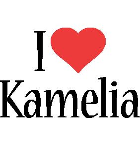 Kamelia i-love logo