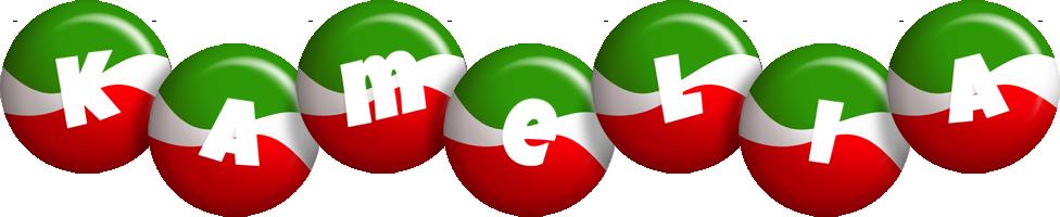 Kamelia italy logo