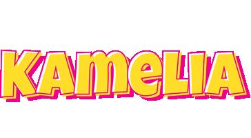 Kamelia kaboom logo