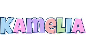 Kamelia pastel logo