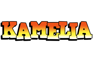 Kamelia sunset logo