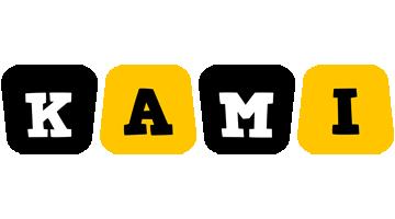 Kami boots logo