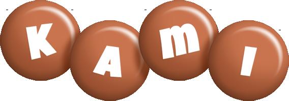 Kami candy-brown logo