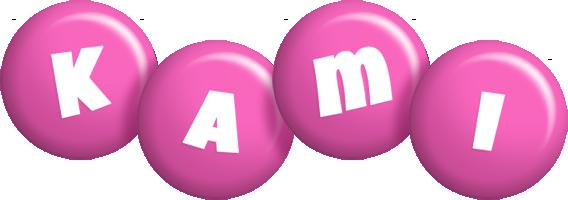 Kami candy-pink logo