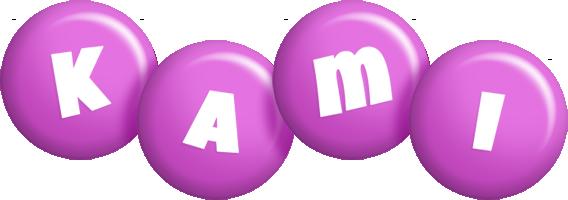 Kami candy-purple logo
