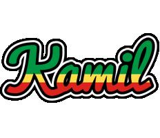 Kamil african logo