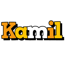 Kamil cartoon logo
