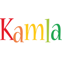 Kamla birthday logo