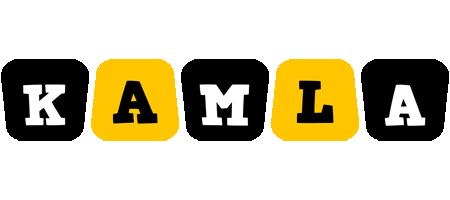 Kamla boots logo