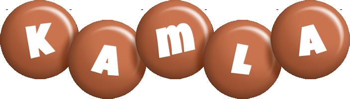 Kamla candy-brown logo