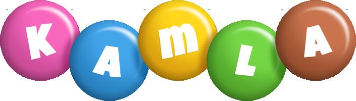Kamla candy logo