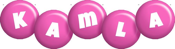Kamla candy-pink logo