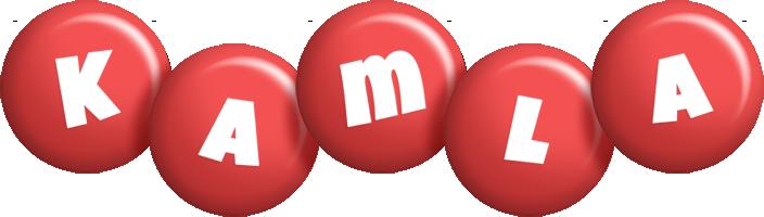 Kamla candy-red logo