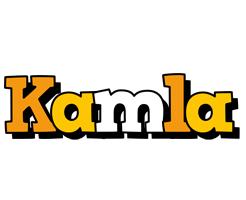 Kamla cartoon logo