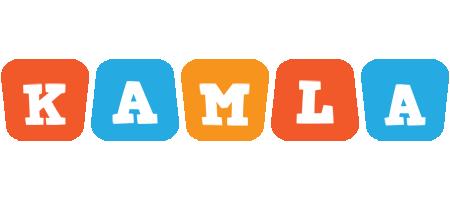 Kamla comics logo