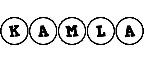 Kamla handy logo