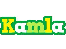 Kamla soccer logo
