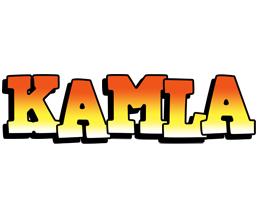 Kamla sunset logo