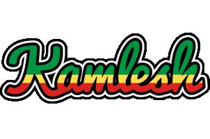 Kamlesh african logo