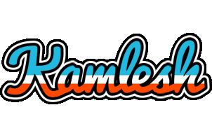 Kamlesh america logo