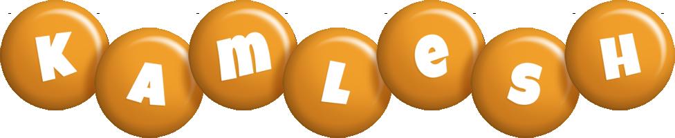 Kamlesh candy-orange logo