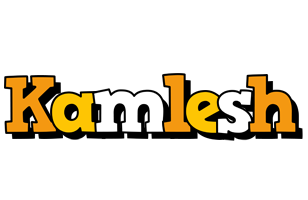Kamlesh cartoon logo