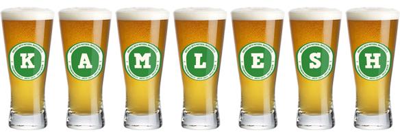 Kamlesh lager logo