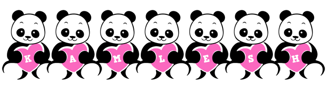 Kamlesh love-panda logo