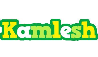 Kamlesh soccer logo