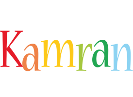 Kamran birthday logo